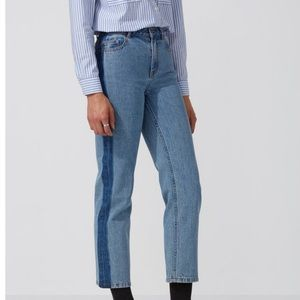 Frank & Oak Patti Straight Leg Jean